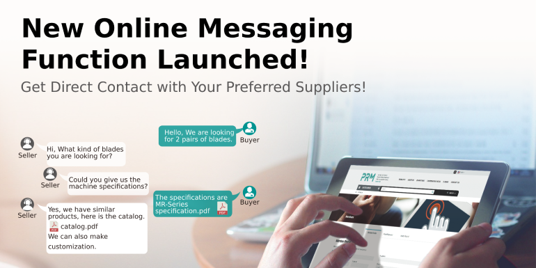 PRM TAIWAN Welcome to JOIN US and Start to Enjoy the New Direct Messaging Function for Members!!!