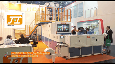 JANDI'S Bio Resin Bag Making Line at K 2019 - JIT Series | JANDI'S INDUSTRIAL