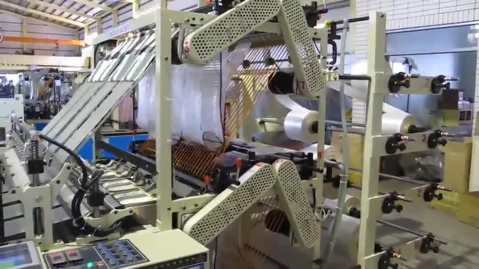 Double Layer 8 Lines Bottom or Blocked Bag Making Machine