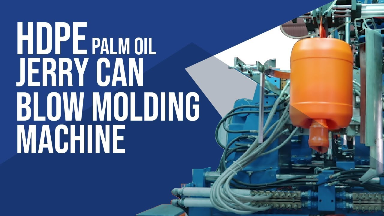 HDPE Palm oil Round Jerry can Blow molding machine